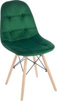 Стул Mio Tesoro Элма SC-004 (G062-18 изумрудно-зеленый) -