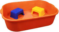 Песочница-бассейн Альтернатива М4683 (оранжевый) -