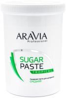 Паста для шугаринга Aravia Professional Сахарная Тропическая средней консистенции (1.5г) -