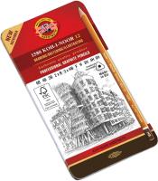 Набор простых карандашей Koh-i-Noor 1582012001PL (12шт) -
