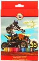 Набор цветных карандашей Koh-i-Noor Sports 3555036007 (36шт) -
