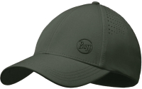 Бейсболка Buff Trek Cap Hashtag Moss Green (123158.851.20.00) -