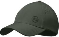 Бейсболка Buff Trek Cap Hashtag Moss Green (123158.851.30.00) -