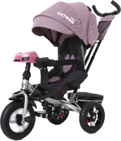 Детский велосипед с ручкой Baby Tilly Cayman T-381 (фиолетовый) -