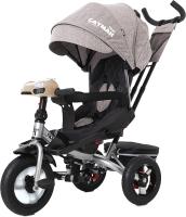 Детский велосипед с ручкой Baby Tilly Cayman T-381 (бежевый) -