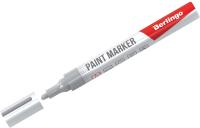 Маркер строительный Berlingo BMk-02113 (серебристый) -