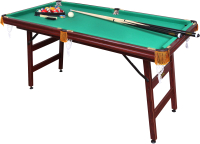 Бильярдный стол FORTUNA Пул 5фт / 04037 (с комплектом аксессуаров) -