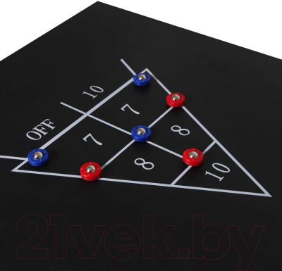 Бильярдный стол FORTUNA Русская Пирамида 5фт 9 в 1 / 07741 (с комплектом аксессуаров)