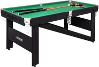 Бильярдный стол FORTUNA Hobby BF-630P Пул 6фт / 08528 (с комплектом аксессуаров) -