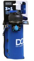 Поилка дорожная для животных DOOG BB3IN1 (синий) -