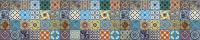 Скиналь Оптион Текстуры. Португальская плитка 78 (МДФ, 2800x600x6) -