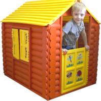 Домик для детской площадки PicnMix Лесной / 509 (желтый) -