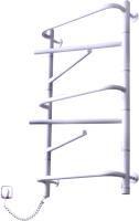 Полотенцесушитель электрический Элна Элна-7 Торцевой 80.5x43.5 (белый, левое подключение) -