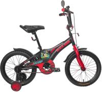 Детский велосипед Black Aqua Sharp 18 KG1810 (хаки/оранжевый) -