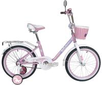 Детский велосипед Black Aqua Princess 18 KG1802 (розовый/белый) -