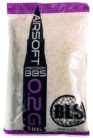 Шарики для страйкбола BLS 6мм 0.2г (1кг, белый) -