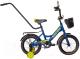 Детский велосипед Black Aqua Fishka 14 KG1427 со светящимися колесами (синий) -