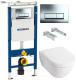 Унитаз подвесной с инсталляцией Villeroy & Boch Subway 2.0 5600-10-01 + 9M68 S101 + 458.125.21.1 -