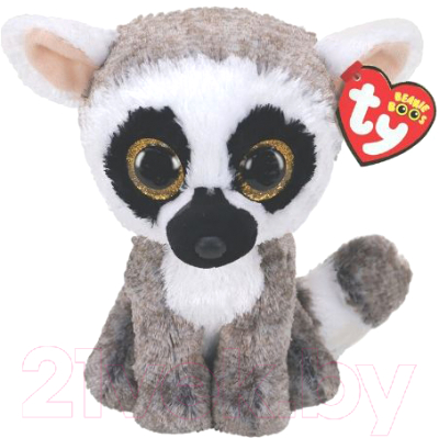 Мягкая игрушка TY Beanie Boo's Лемур Linus / 36224