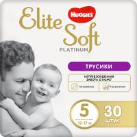 Подгузники-трусики детские Huggies Elite Soft Platinum 5 (30шт) -