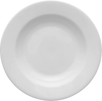 Тарелка столовая глубокая Lubiana Kaszub Hel / 0225 -