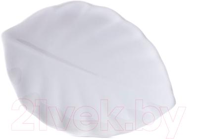 Тарелка закусочная (десертная), 9 шт. Белбогемия Лист 4572-8 / 90755