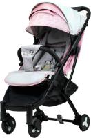 Детская прогулочная коляска Yoya Plus 2 (розовый/серый) -