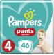 Подгузники-трусики детские Pampers Pants 4 Maxi (46шт) -
