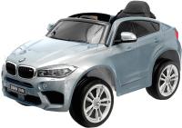 Детский автомобиль Sima-Land BMW X6M / 4351826 (серебристый глянец) -