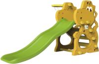 Горка-комплекс Toy Monarch Динозаврик / 3649357 (с баскетбольным кольцом) -