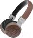 Беспроводные наушники Ritmix RH-460BTH (коричневый) -
