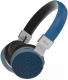 Беспроводные наушники Ritmix RH-460BTH (синий) -