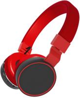 Наушники-гарнитура Ritmix RH-415BTH (черный/красный) -