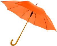 Зонт-трость SunShine Arwood 8003.07 (дерево/оранжевый) -