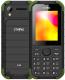 Мобильный телефон Strike R30 (черный/зеленый) -