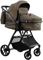 Детская универсальная коляска Farfello Joy 2 в 1 / FJ (бежевый) -