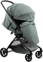 Детская прогулочная коляска Farfello Airy / A (серый/зеленый) -