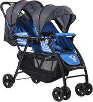 Детская прогулочная коляска Farfello Vivid Plus / VP-705 (синий) -