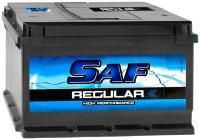 Автомобильный аккумулятор SAF R (62 А/ч) -