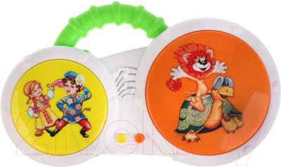 Развивающая игрушка Умка Барабан. 24 любимые песни и потешки / B1452960-R