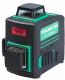 Лазерный нивелир Fubag Pyramid 30G V2х360H360 3D / 31632 (зеленый луч) -