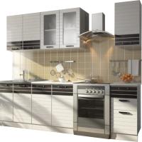 Готовая кухня Rikko Билона 2.0 (белый/белый глянец) -