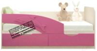 Кровать-тахта детская Rikko Дельфины-1 1.6 (розовый) -