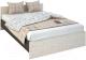Полуторная кровать Rikko Бася КР556 120х200 (венге/белфорд) -
