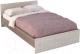 Полуторная кровать Rikko Бася КР556 120х200 (шимо темный/шимо светлый) -