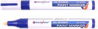 Маркер строительный Darvish DV-2754 (синий) -