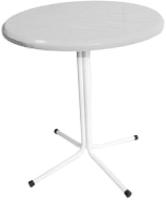 Стол садовый Термопласт ЖРВИ д700 196с (белый) -