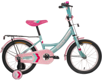Детский велосипед Black Aqua 1606-T / HH-1606 (бирюзовый) -