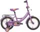 Детский велосипед Black Aqua 1606-T / HH-1606 (сиреневый) -