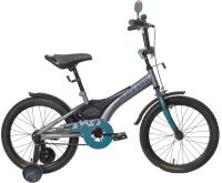 Детский велосипед Black Aqua Sharp 18 KG1810 (серый/морская волна) -